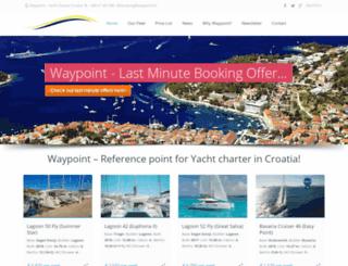 yacht-charter-croatia.hr screenshot