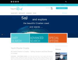 yacht-rent.com screenshot