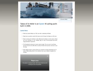 yacht-taboo.com screenshot
