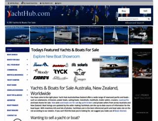 yachthub.com screenshot