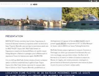 yachting-challenge.com screenshot