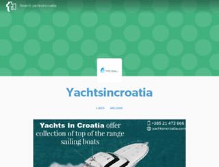 yachtsincroatia.tumblr.com screenshot