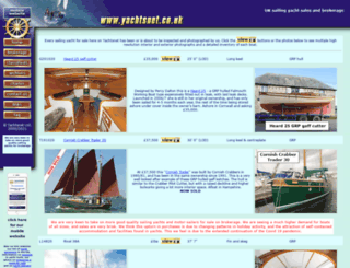yachtsnet.co.uk screenshot