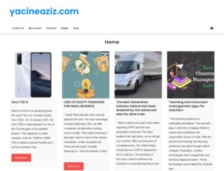 yacineaziz.com screenshot