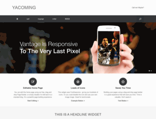 yacoming.com screenshot