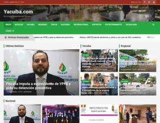 yacuiba.com screenshot