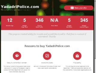 yadadripolice.com screenshot
