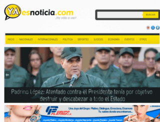 yaesnoticia.com screenshot