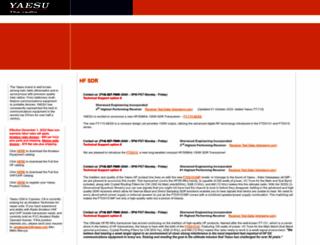yaesu.com screenshot