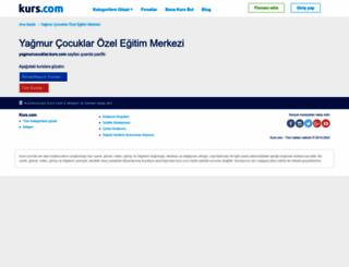 yagmurcocuklar.kurs.com screenshot