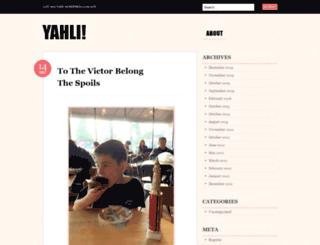 yahli.com screenshot