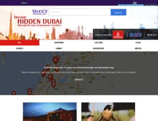 yahoo-hiddendubai.com screenshot