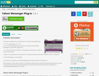 yahoo-messenger-plug-in.soft112.com screenshot