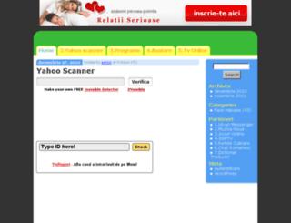 yahoo-scan.onlinefree.ro screenshot