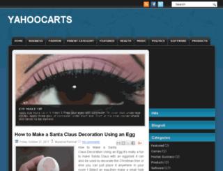 yahoocarts.blogspot.com screenshot