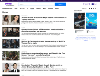 yahoomovies.com screenshot