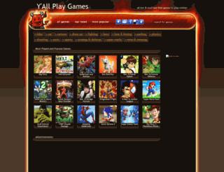 yallplaygames.com screenshot
