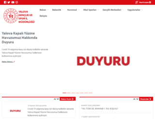 yalova.gsb.gov.tr screenshot