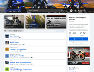 yamaha-forum.net screenshot