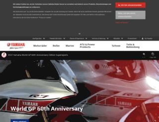 yamaha-motor.ch screenshot
