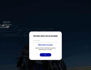 yamaha-motor.com.br screenshot