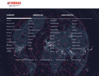 yamaha-motor.pt screenshot