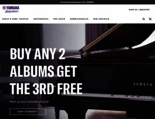 yamahamusicsoft.com screenshot