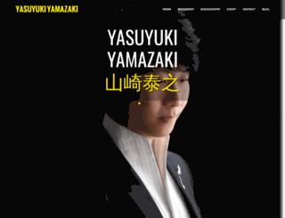 yamazakiyasuyuki.com screenshot