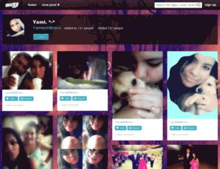 yamilethbravo.muzy.com screenshot