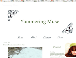 yammeringmuse.blogspot.com screenshot