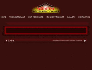 yammyrestaurant.com screenshot