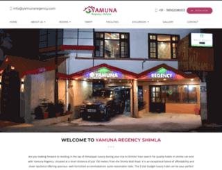 yamunaregency.com screenshot