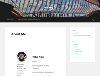 yamz.wordpress.com screenshot