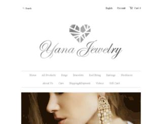 yana-jewelry.com screenshot