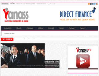 yanass.org screenshot