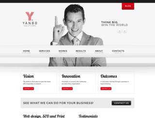 yanbosolutions.com screenshot
