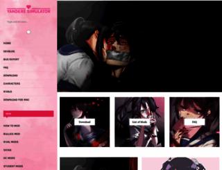 yanderesimulator.org screenshot
