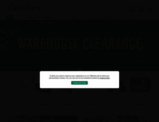 yandles.co.uk screenshot