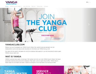 yangaclub.com screenshot