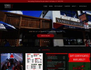 yankeelobstercompany.com screenshot