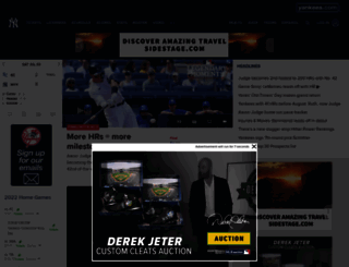 yankees.com screenshot