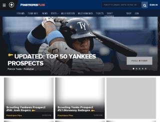 yankees.scout.com screenshot