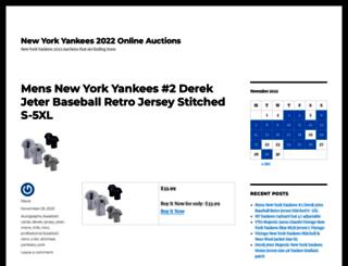 yankees.topbidswipe.com screenshot
