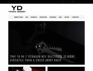 yankodesign.com screenshot