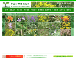 yaocaizhongzi.com screenshot
