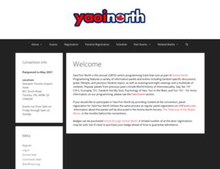 yaoinorth.com screenshot
