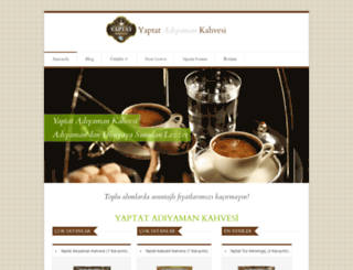 yaptatkervansaraykahve.net screenshot