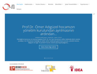 yaraticidrama.org screenshot