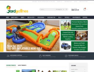 yardgames.com.au screenshot
