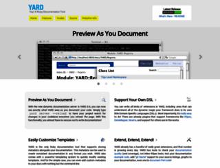 yardoc.org screenshot